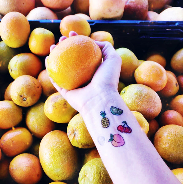 Tiny Tatts! Mystery Pack of Five: Fruit Edition