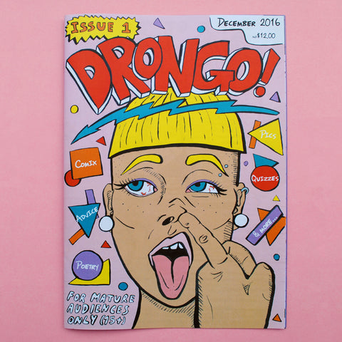 'Drongo': Issue #1 (December 2016)