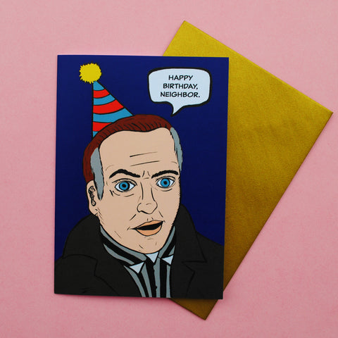 Frank Booth Birthday Card