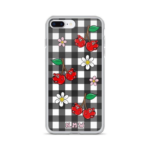 Cherry Pupper iPhone Case