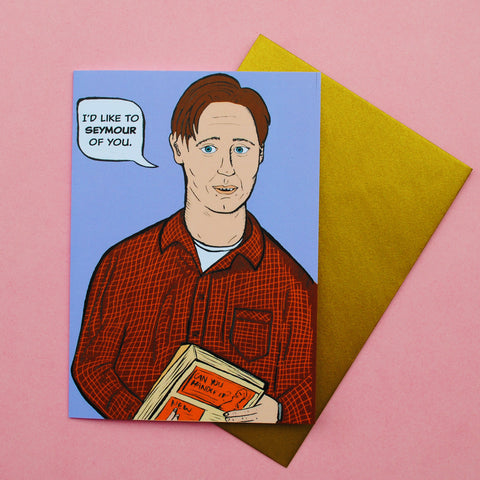 Seymour Valentine's Day Card