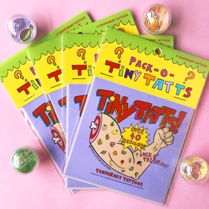Tiny Tatts! Mystery Pack of Five: Series One