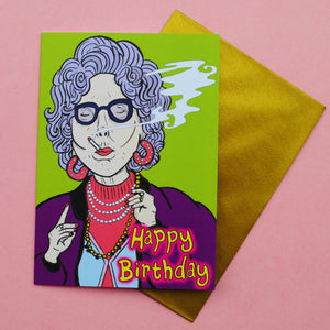 Yetta Birthday Card