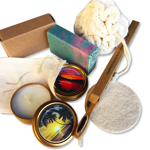 Fragrant Plastic-free Bath Starter Kit