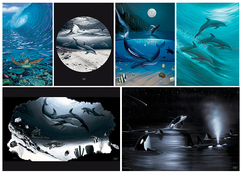 Wyland Fine Art Note Cards - set of 6