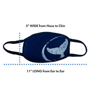 WHALE TAIL FACE MASKS – 3 FOR $30