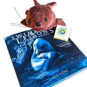 Sea Lion Plush Storybook Bundle