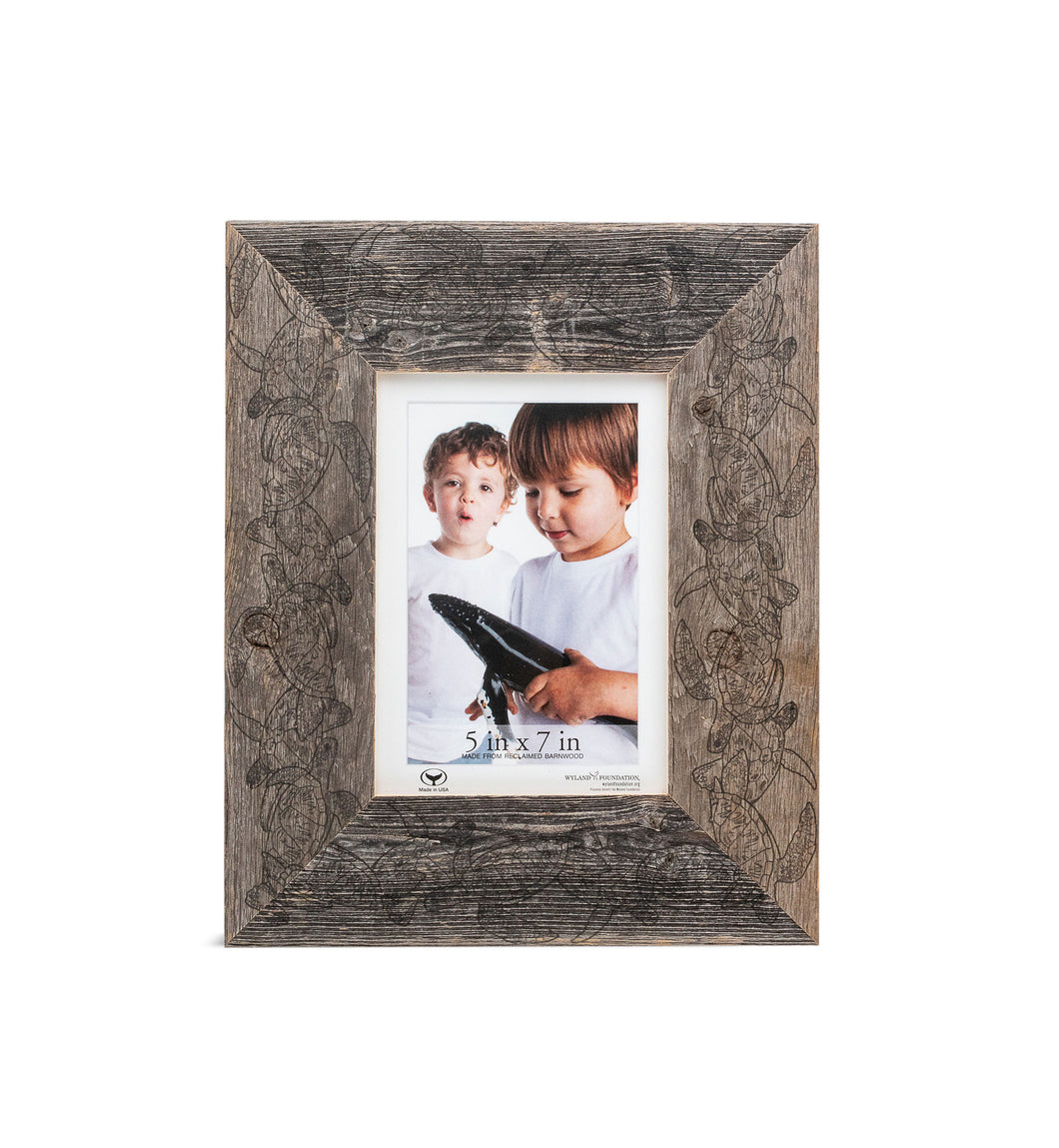 Sea Turtle Migration Medium Picture Frame / for 5