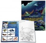 Wyland Ocean Life Coloring Books / 10 Piece 'Play Date' Bundle