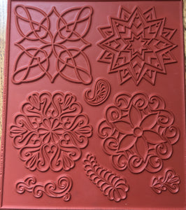 Art Journaling Coloring Stamps