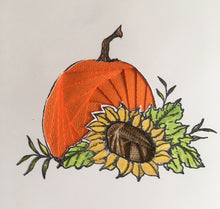 Load image into Gallery viewer, Iris Folding Pumpkin