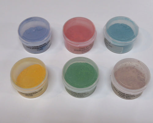 Powdered Chalk Basic Set of 6