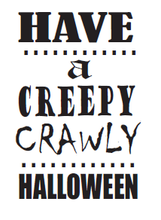 Load image into Gallery viewer, Creepy Crawly Halloween