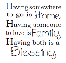 Load image into Gallery viewer, Home Family Blessing
