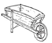 Load image into Gallery viewer, Wheelbarrow