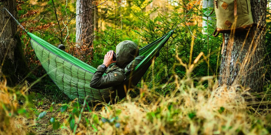 Cold Night In Your Hammock?  An Underquilt Is the Answer.