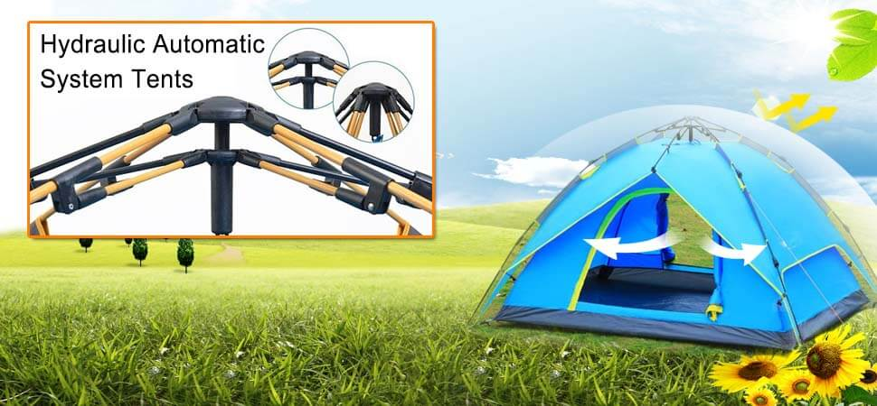 Hydraulic Automatic System Tents