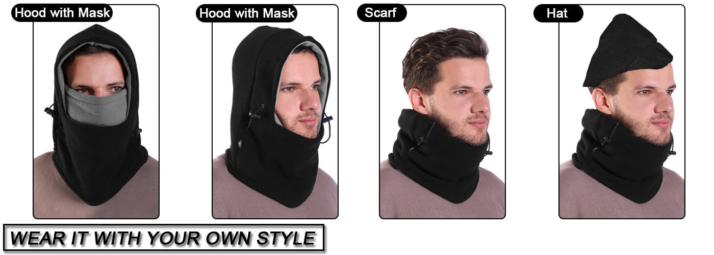 Balaclava Fleece Hood