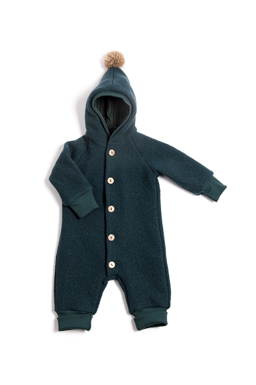 Petrol Wool Suit