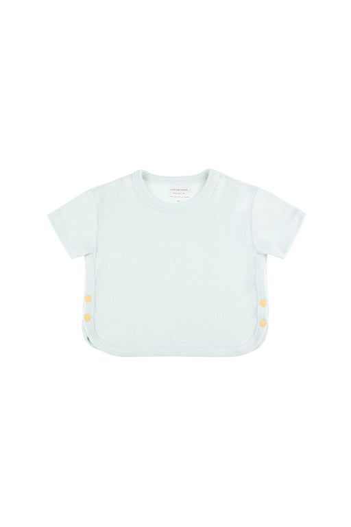 Buttons Cropped Tee