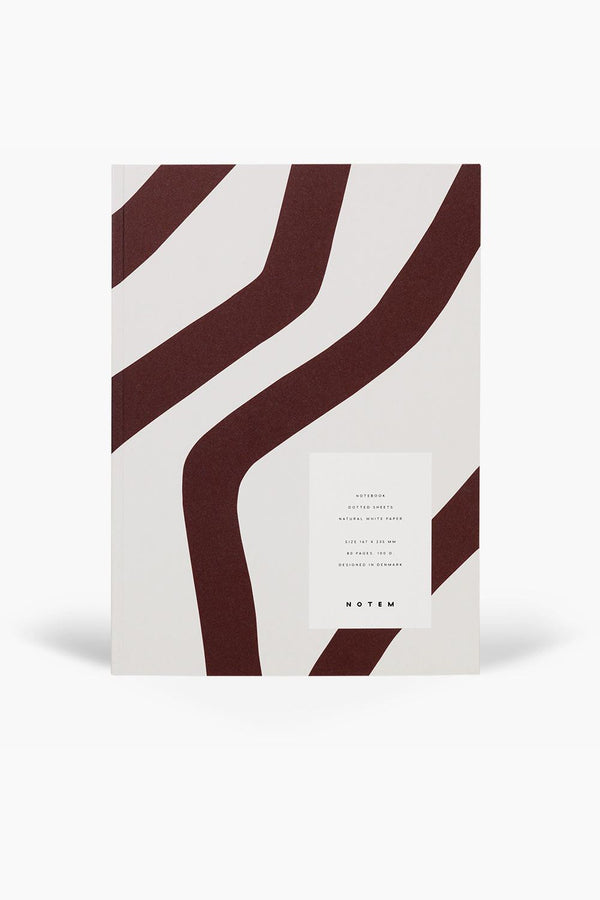 VITA Notebook - Bordeaux Waves