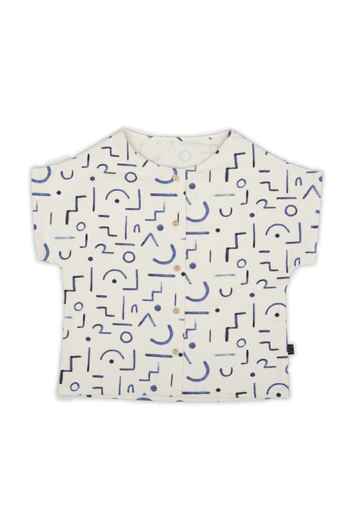 Shapes Button Shirt