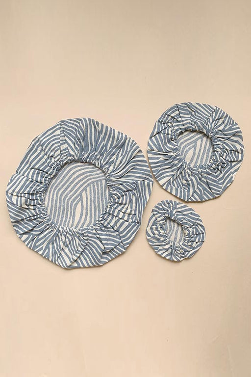 3-pack Cotton Covers - Ocean Wave