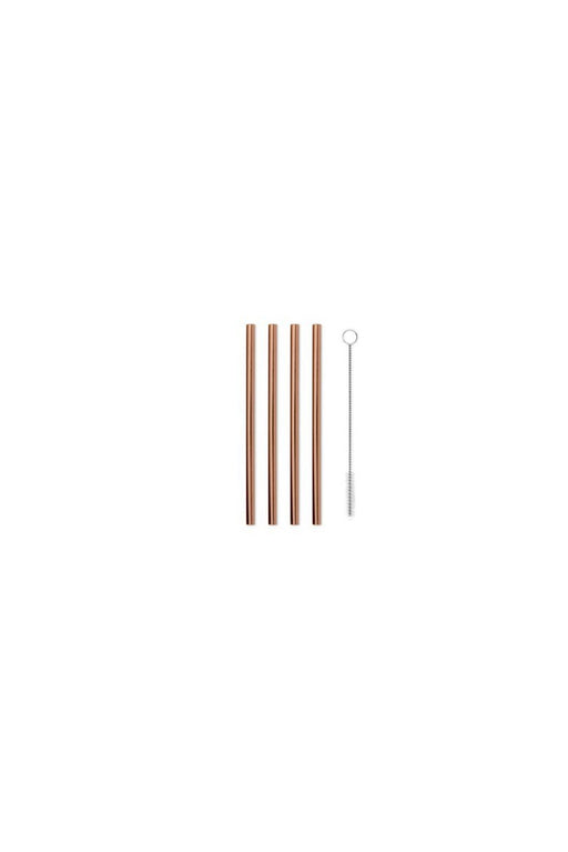Porter Metal Straws - Set of 4
