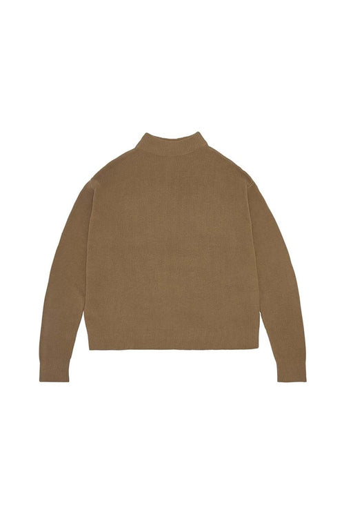 Rib Sweater - Camel