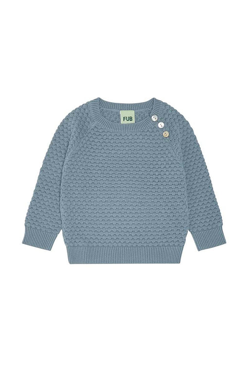 Baby Bubble Blouse - Blue