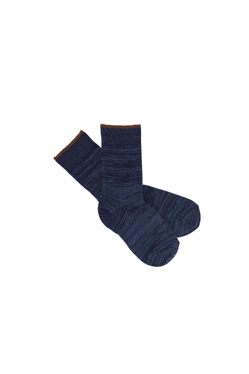 Melange Socks - Dark Navy