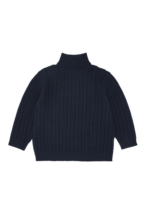 Oversize Sweater - Navy