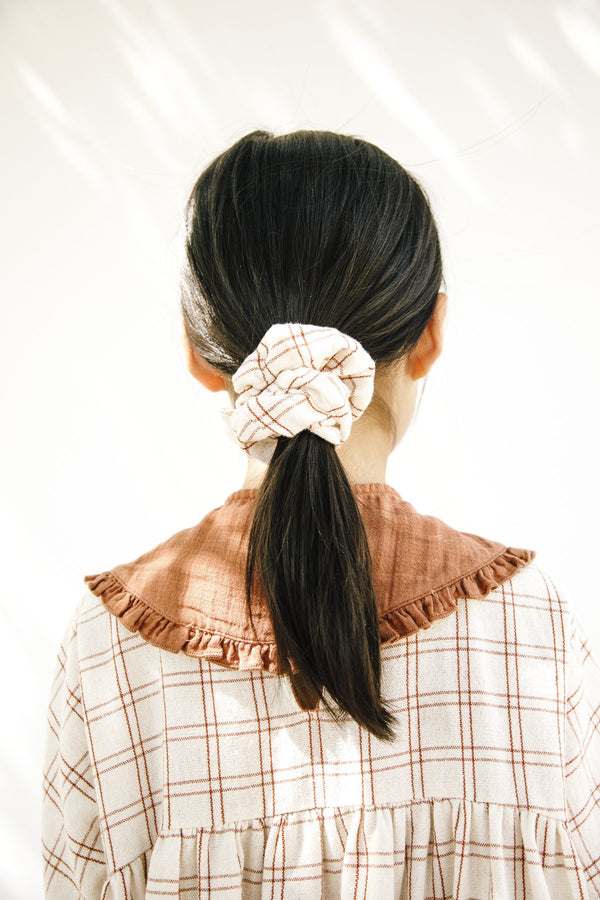 Scrunchie - Rustic Check
