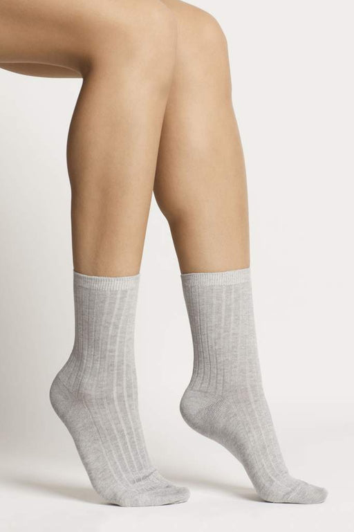 Organic Cotton Socks - Grey