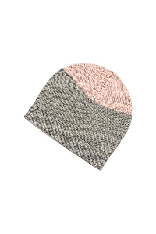 Hat - Light Grey/Rose