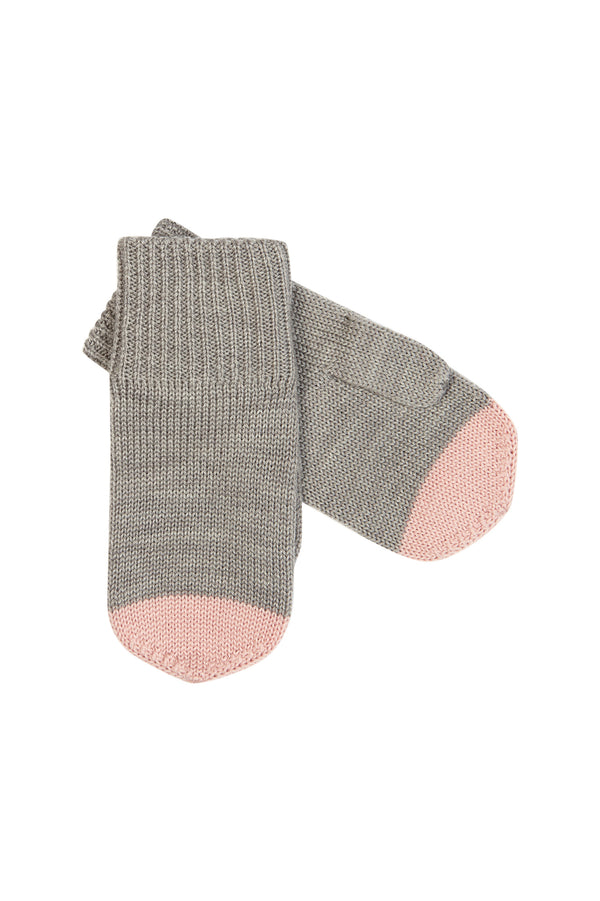 Mittens - Light Grey/Rose