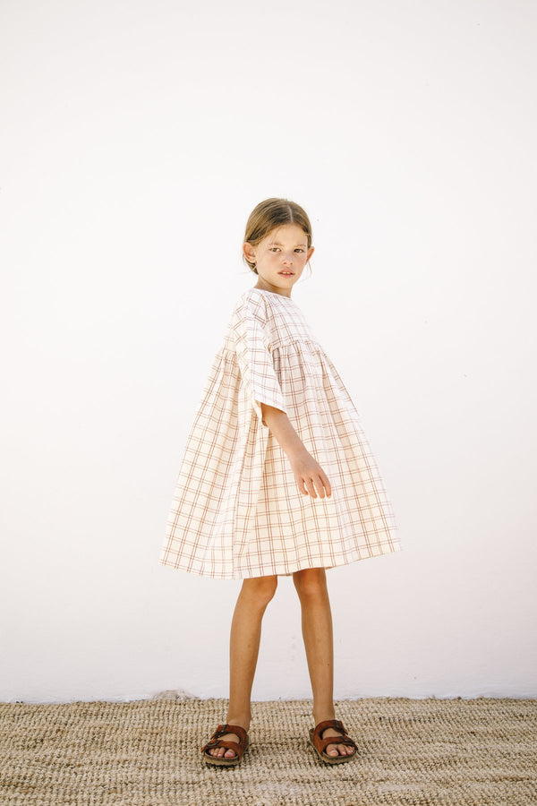Liilu Dress - Rustic Check