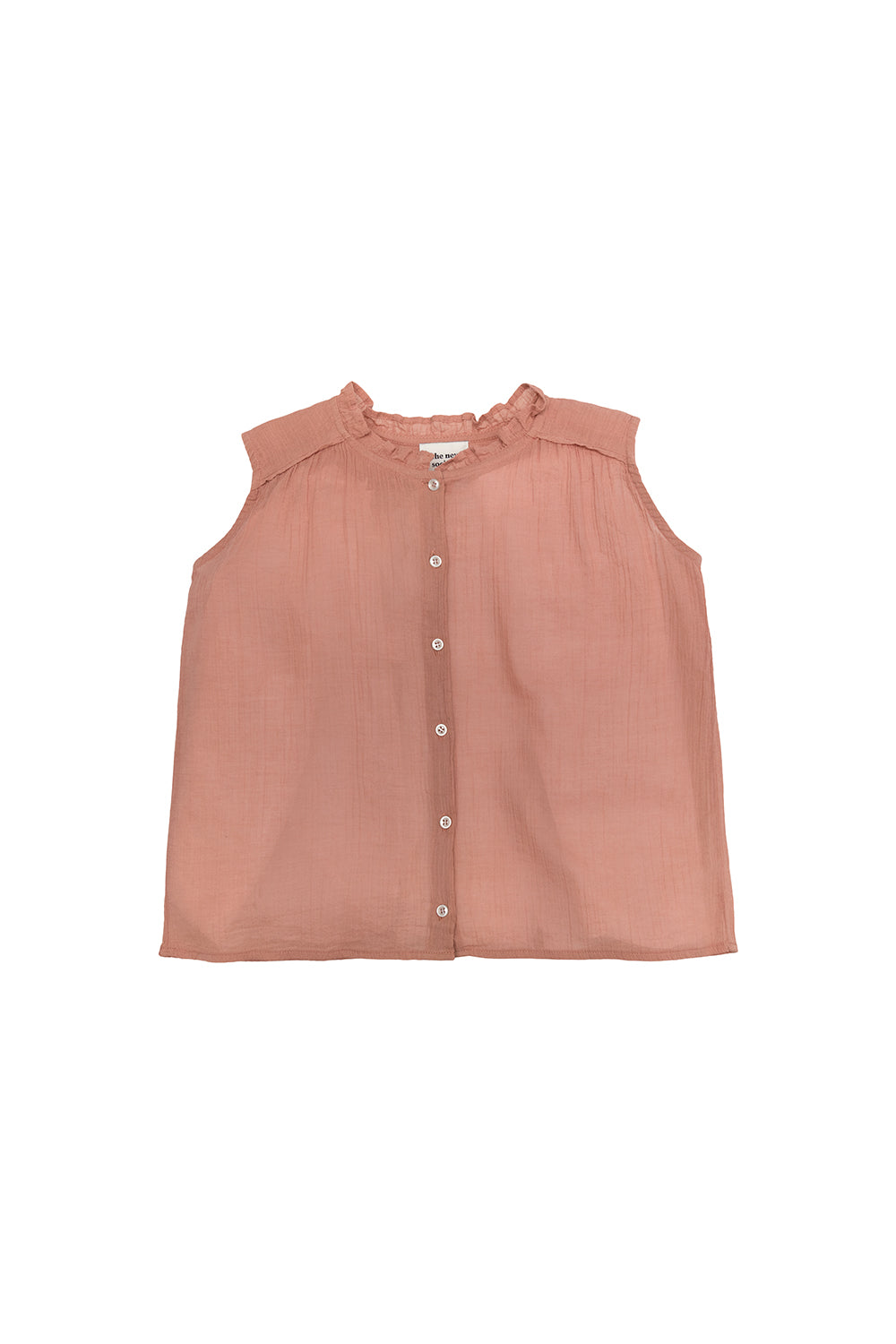 Lua Bambula Blouse - Rose Cloud