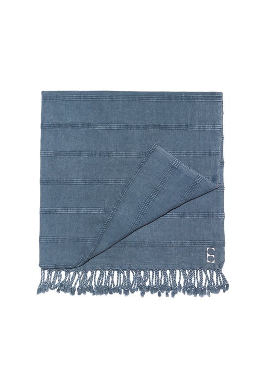 The Gigi Towel, Denim