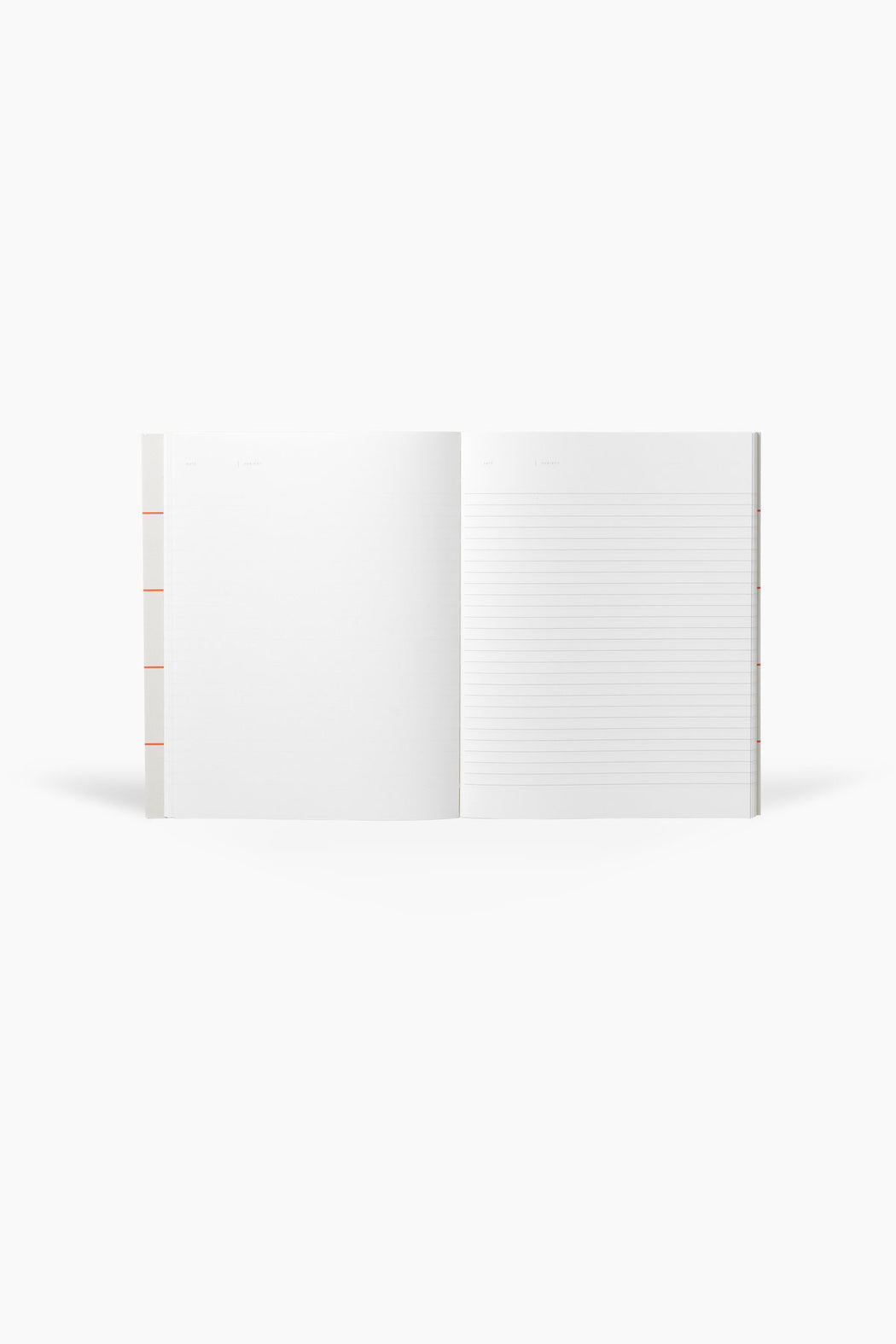 UMA Notebook, Flat Lay - Light Gray