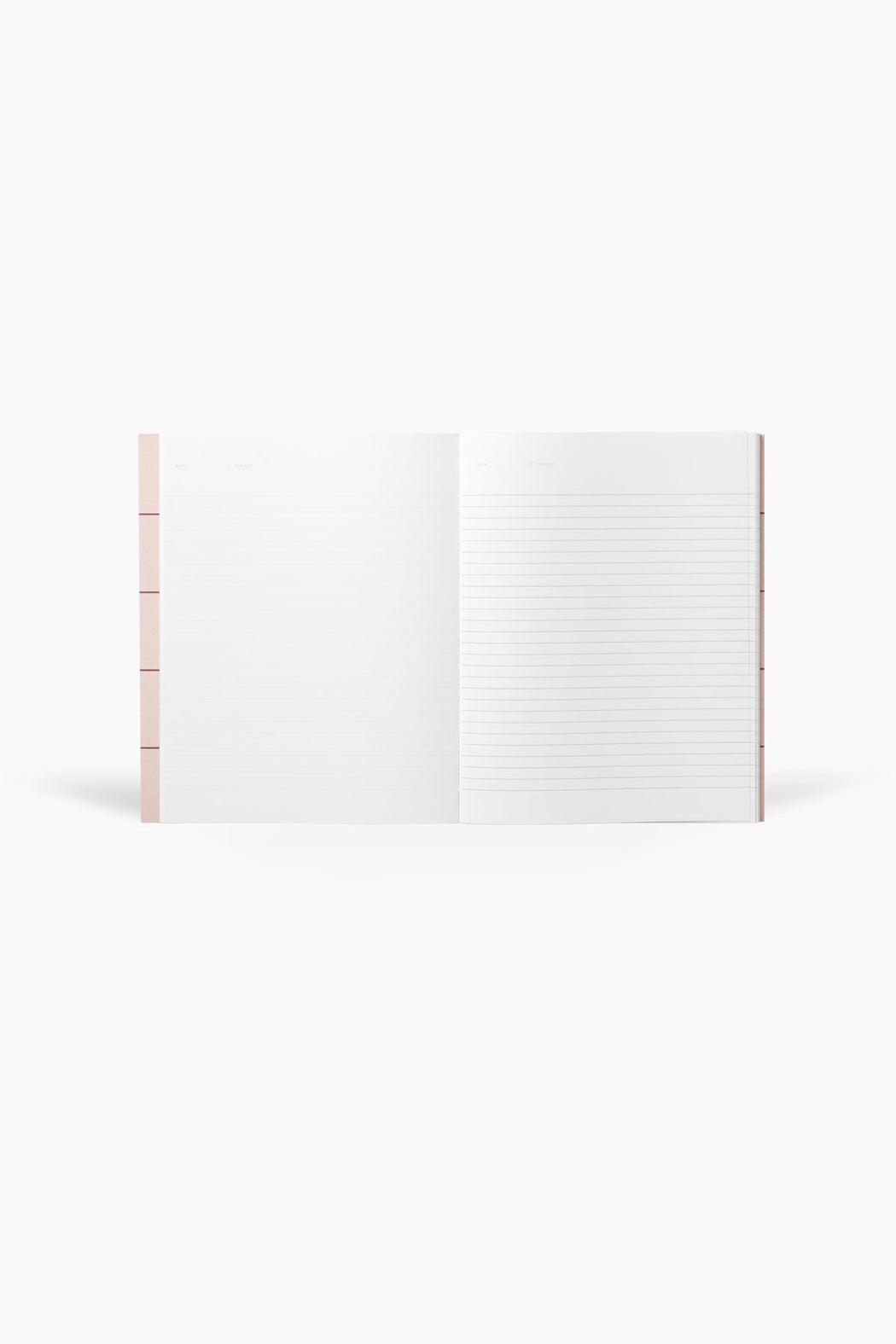 UMA Notebook, Flat Lay - Rose