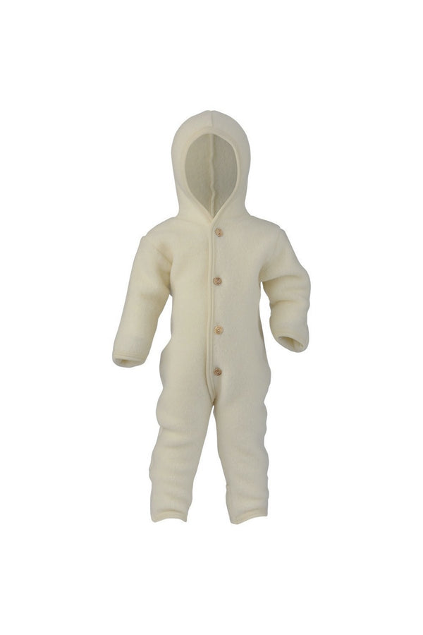 Hooded overall - Natural - 62/68