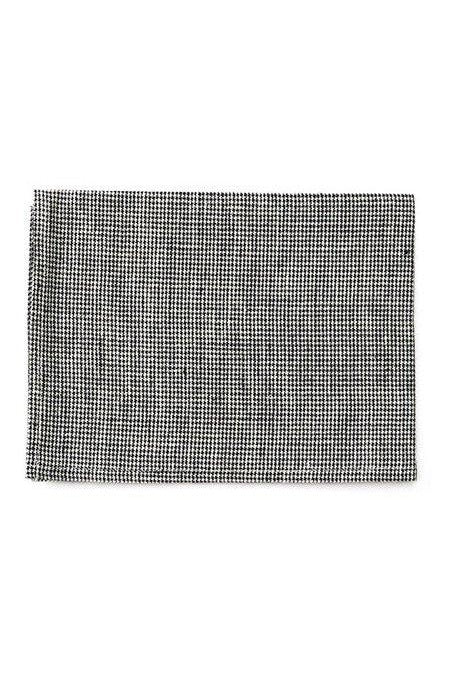 Linen Kitchen Cloth Toothhound Check