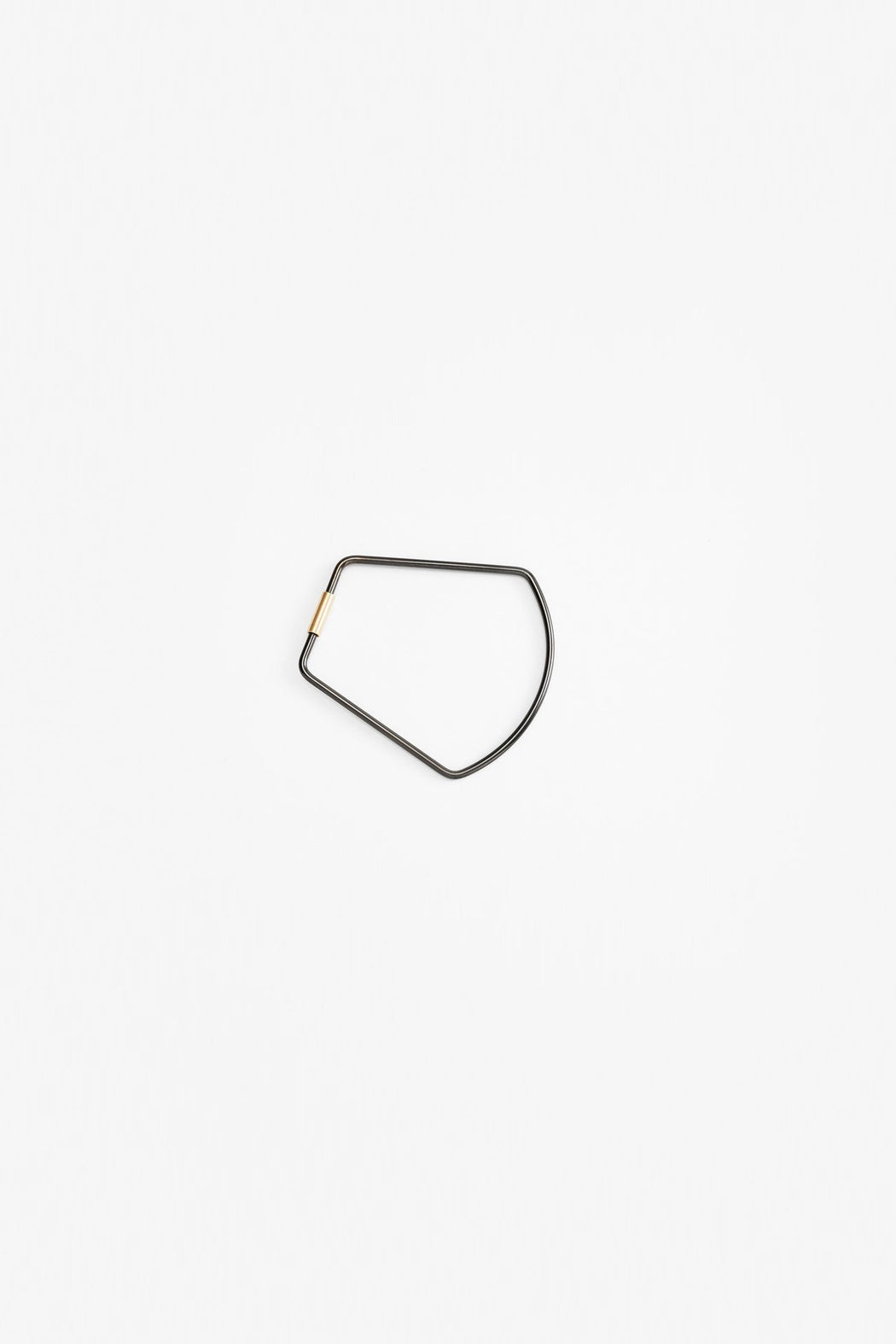 Contour Key Ring - Black Bell
