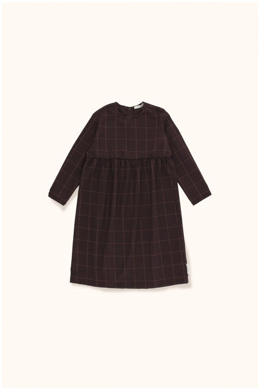 Grid Flannel L/S Dress
