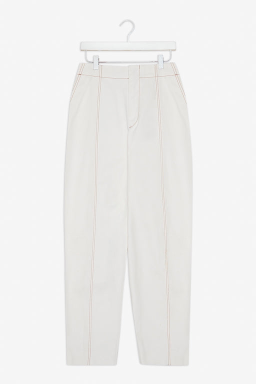 Raisa Trousers - White Twill