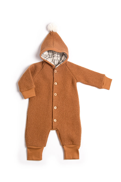 Terracotta Wool Suit