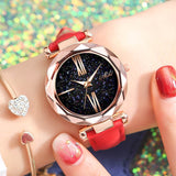 Glitter Watch Leather Strap - Blessy
