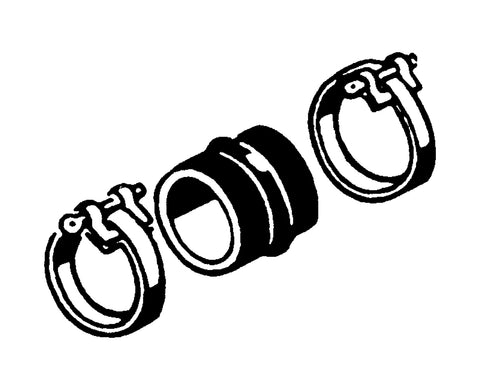 Connection Hose & Clamp Kit