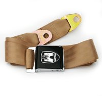 Tan w/ Black Buckle - 3 Point